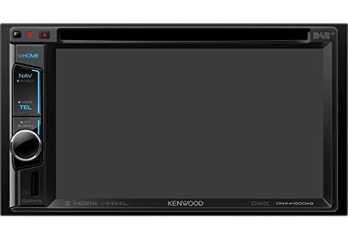 Kenwood dnx-4150dab Doppel 2DIN Media System mit integriertem DAB Digital Radio und Bluetooth - Din Doppel Kenwood Stereo