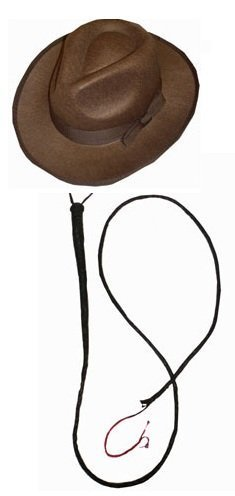 explorer-set-1-x-brown-felt-fedora-hat-1-x-leather-bull-whip-fancy-dress-accessory-set-archaeologist