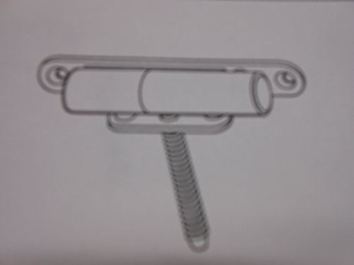 Preisvergleich Produktbild Renovierband K 3172 WF verzinkt Rahmenteil zum Aufschrauben Fensterband Schaniere Band