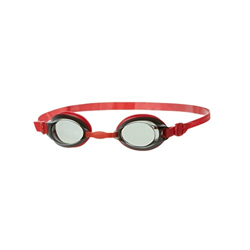 Spa 6 Jets (Mainline Uni Jet Junior Schwimmbrille, Schwimmbrille Jet Junior , Gr. 6-14 Jahre (Herstellergröße: 6-14 ans), Usa Red/Smoke)