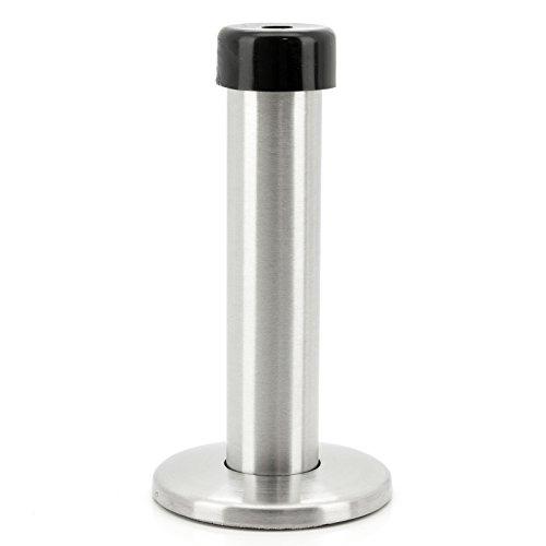 BASI® Wand-Türstopper Edelstahl zur Wandmontage 96 mm Stopper Wandpuffer Wandtürstopper Türklinkenpuffer