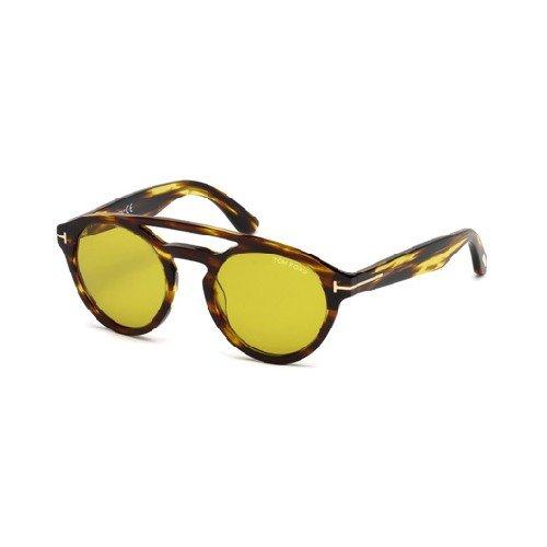 Tom Ford Unisex-Erwachsene FT0537 48E 50 Sonnenbrille, Braun Scuro Luc/Marrone