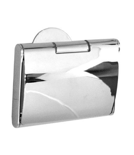 Smedbo YK3414Zeit Toilettenpapierhalter mit Abdeckung, silber