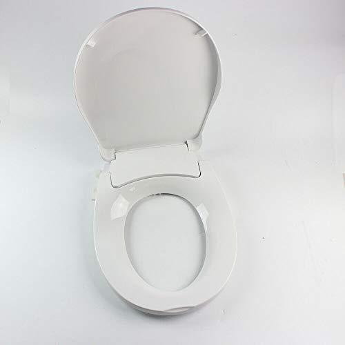 Bidet WC Sitz Kunststoff Toilettensitz Verstellbar Toilettendeckel O-Form Klobrille Absenkautomatik Klodeckel WC-Schüsseln mit Sprüher -