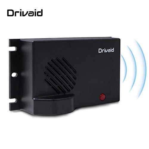 Drivaid Repellente Ultrasuoni per Topi, 6V Batteria Caricata, Mobile Apparecchio Scacciare Roditori per Auto, Casa e Garage