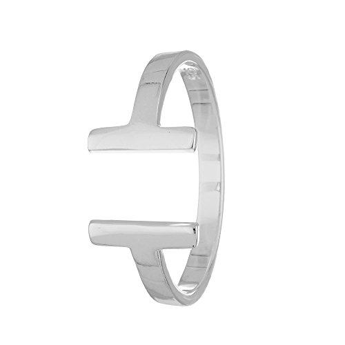 Treuheld Ring - 925 Silber - T-Form [10.] - Silber 58