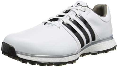 adidas Tour360 Xt-SL(Wide), Scarpe da Golf Uomo, Bianco (Blanco/Negro F34990), 44 2/3 EU