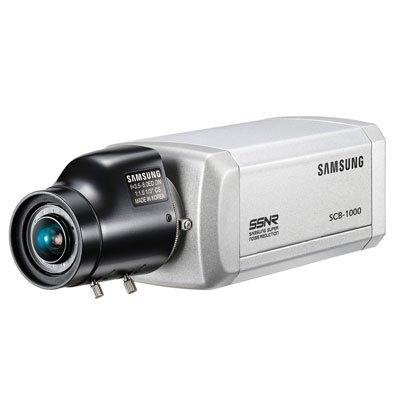 SS17 - SUPER HAD CCD SAMSUNG SCB-1000PD 0,85 cm alta resolución 530TVL color CCTV cámara caja