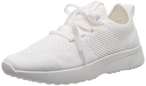 Marc O\'Polo Damen Sneaker, Weiß (White 100), 42 EU