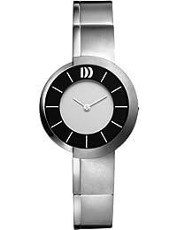 Danish Design Damen-Armbanduhr Analog titan Grau DZ120106