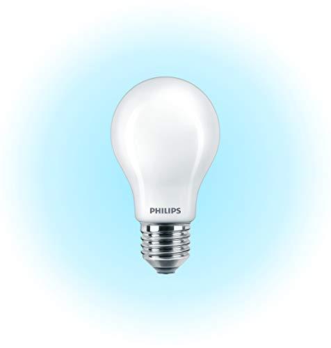 Philips LED-Leuchtmittel, kühles Weiß, Synthetik, E27, 7,5W, satiniert