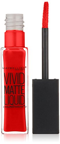 MAYBELLINE Vivid Matte Liquid - Rebel Red - New York Color Liquid Lip