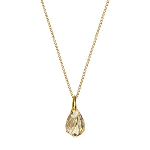 Swarovski pendente energic, piccolo, dorato, placcatura oro