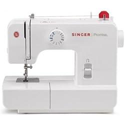 Singer Promise 1408 - Máquina de coser mecánica, 8 puntadas, 120 V, color blanco
