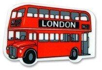 Bandera del Reino Unido #1 más vendidas Routemaster/Route Master/de autobús de dos pisos de goma de borrar souvenir! Souvenir/Speicher/memoria! Totalmente Cool, diseño portátil y One-of-a-tipo! De la ruta Master #1/Routemaster de goma de borrar souvenir! Gomme/Radiergummi/Gomma/Goma de Borrar! S01