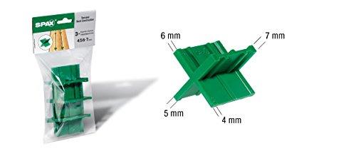 Spax  <strong>Geeignet für</strong>   Terrassenbau, Fugenbreiten von 4/5/6/7 mm