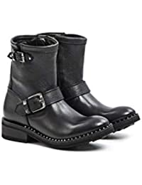 a880f28cd7d ASH - Soho Black Ash Mexican Boots - SOHO002