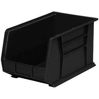 Bin [Set of 12] Color: Black, Size: 10 H x 11 W x 18 D by Akro-Mils