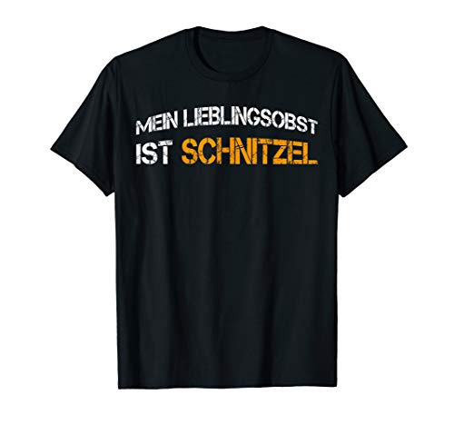 Mein Lieblingsobst ist Schnitzel Geschenk Metzger