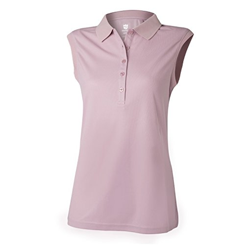 Wilson Golf Femme Polo de sport sans Manches, SLEEVELESS...
