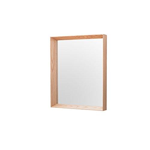 Hochwertiger Spiegel OAK eckig nordamerikanische Eiche Wandspiegel Holzspiegel