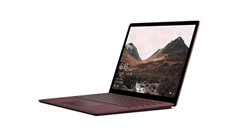 Microsoft 34,29 cm (13,5 Zoll) Surface Laptop (Intel Core i5, 256GB Festplatte, 8GB RAM, Intel HD Graphics 620, Win 10 S) Bordeaux Rot