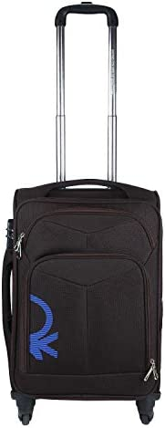 United Colors of Benetton Polyester 58 cms Coffee Softsided Check-in Luggage (0IP6SPO20T03I)