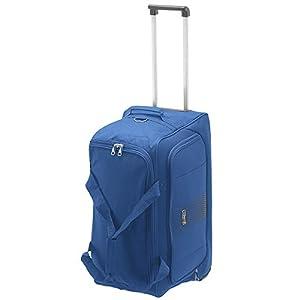 GABOL Bolso Ruedas M Roll. Bolsa de Viaje, 50 cm, 15 litros, Azul