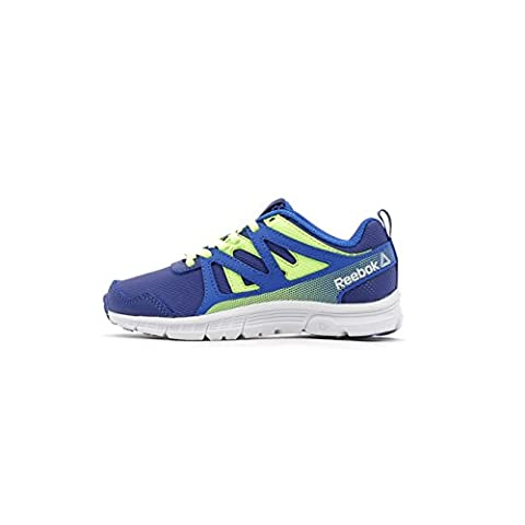 Reebok Run Supreme 2.0, Chaussures de Fitness Mixte Enfant, Bleu (Vital Blue/Deep Cobalt/Electric Flash/Si), 36 EU