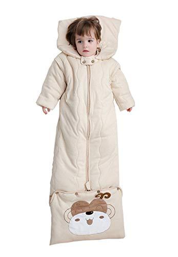 Babyfat sacco nanna/pigiama bambino autunno/invernale 3.5tog - inverno - cammello label 130(0-7t)