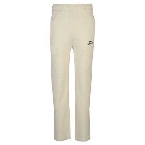 Slazenger Kids Cricket Trousers Pants Bottoms Junior Boys Elasticated Waist White 9-10 (MB)