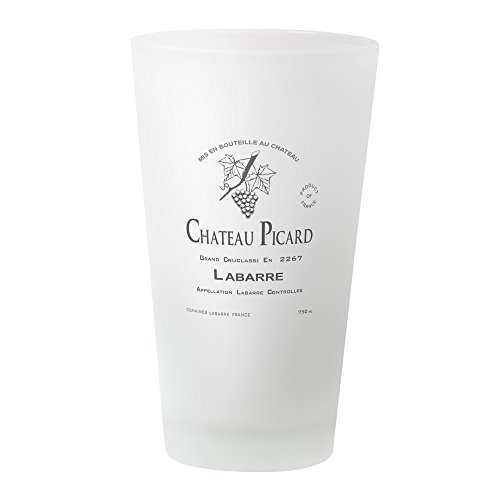CafePress Trinkglas Chateau-Picard frosted Imperial Blue Cup