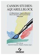 Preisvergleich Produktbild Canson Studien-Aquarell-Block, 29,7x42 cm 12 Blatt [Bürobedarf & Schreibwaren]