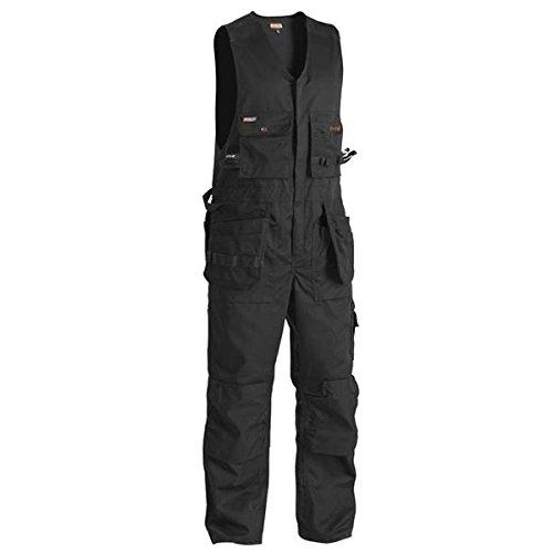 BLAKLADER Overall ohne Ärmel Arbeitshose 2650 schwarz Schwarz C150