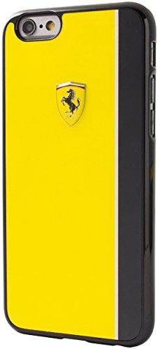 Ferrari FELIHCP6LRE Scuderia harte Schutzhülle mit Glossy Plattenstreifen für Apple iPhone 6 Plus/6S Plus rot/weiß Gelb/schwarz
