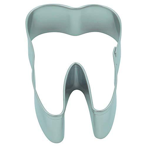 Unbekannt Ausstecher/Ausstechform Zahn 5,5 cm aus Edelstahl