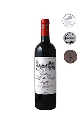 CHATEAU LAFFITTE LAUJAC - Grand Vin Rouge Bordeaux - Cru Bourgeois in 1932- AOP Médoc 2015