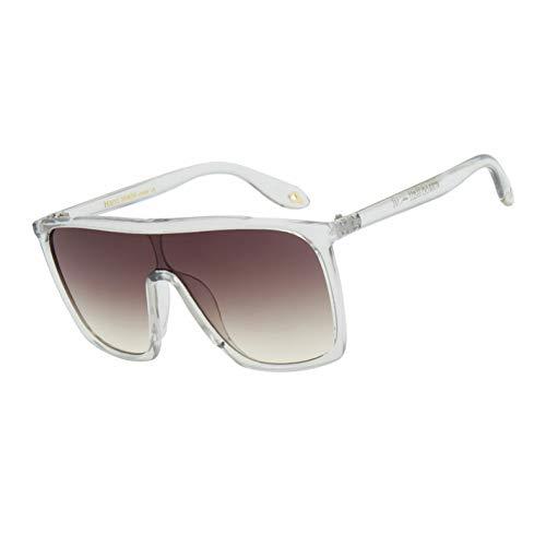 Kjwsbb Damen schwarz klar übergroße quadratische Sonnenbrille Frauen FarbverlaufSommerKlassischeSonnenbrillegroße quadratische Schattierungen