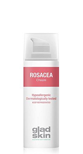 Gladskin Rosacea Creme 50ml - verringert Rötungen, Pusteln, und brennendes Gefühl und beugt neuen...