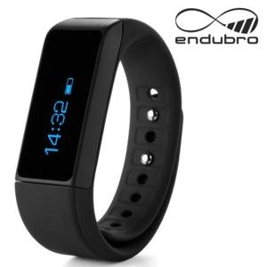 endubro i5 plus fitness bracelet – fitness tracker – smart bracelet – SmartWatch for Android Smartphone and iPhone, pedometer, push message and caller – ID Alert