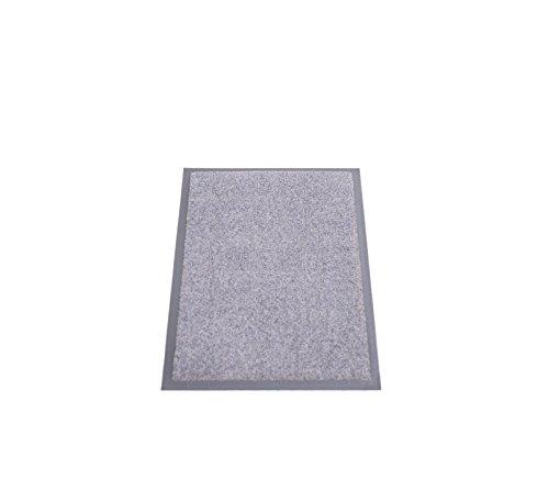 Miltex 25011 Eazycare Pro Schmutzfangmatte, Polyamid und Nitril Gummi-Rücken, Grau, 60 x 40 cm