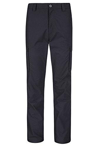 mountain-warehouse-mens-winter-trek-fleece-lined-walking-hiking-outdoor-elasticated-trousers-black-3