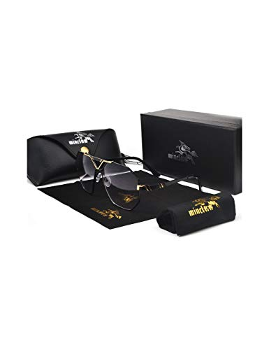HNPYY Sonnenbrillen Luxury Brand Designer Sunglasses Men Women Vintage Oversized Glasses Man,C