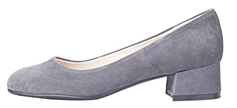 queenfoot Pump6008, Basses femme - - C-Grey suede,