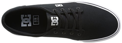 DC Shoes Trase Tx, Baskets mode homme Noir (Black/White)