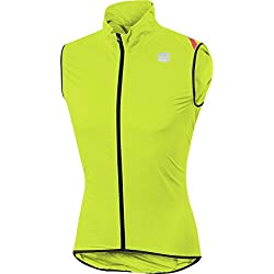 Sportful Hombre Hot Pack 6 Chaleco, Color Yellow Fluo, tamaño Extra-Large