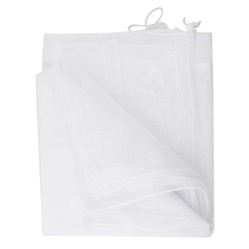 Imported White Mosquito Net for Baby Double/Twin Carriage Stroller pram  available at amazon for Rs.325
