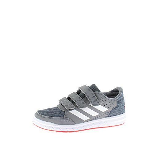 adidas Altasport, Chaussures de Gymnastique Mixte Enfant, Gris Gris (Grey/footwear White/onix)