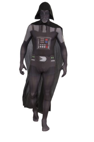Rubie's 3880978 - 2nd Skin Darth Vader - Kostüme für Erwachsene, (Erwachsene Für Disney Kostüme Ideen)