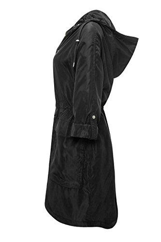 Vero Moda Damen Parka Kurzmantel Übergangsjacke Black